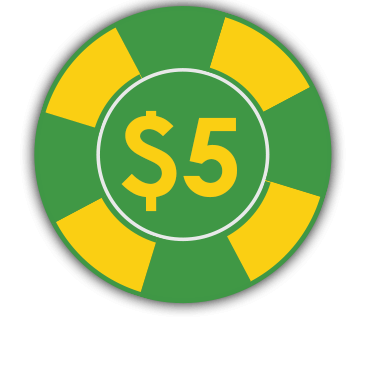 5chip $5 Free Chip - Fair Go Casino