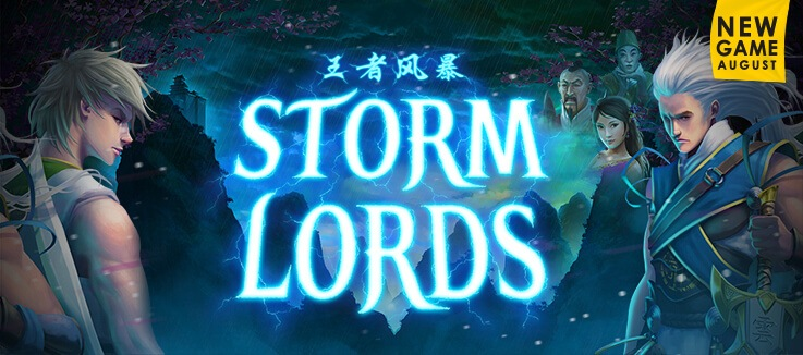 Storm Lords pokie