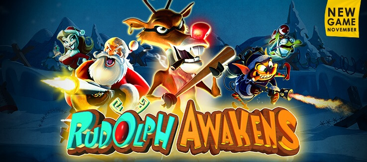 Introducing Rudolph Awakens pokie