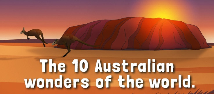 10 Australian wonders of the world