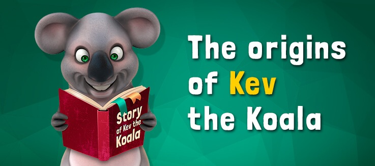 Origins of Kev the Koala