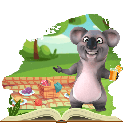 Kev the koala just had a picnic