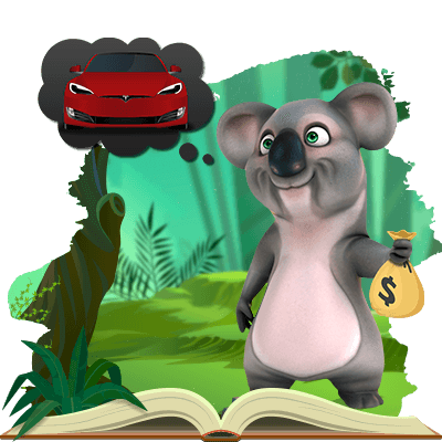 Kev the Koala is buying a Tesla