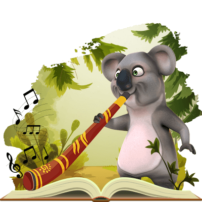 Kev the koala from Fair Go is learning the didgeridoo…