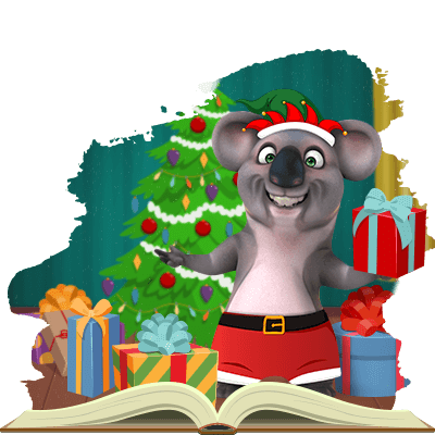 Help Kev the Koala wrap presents this Christmas